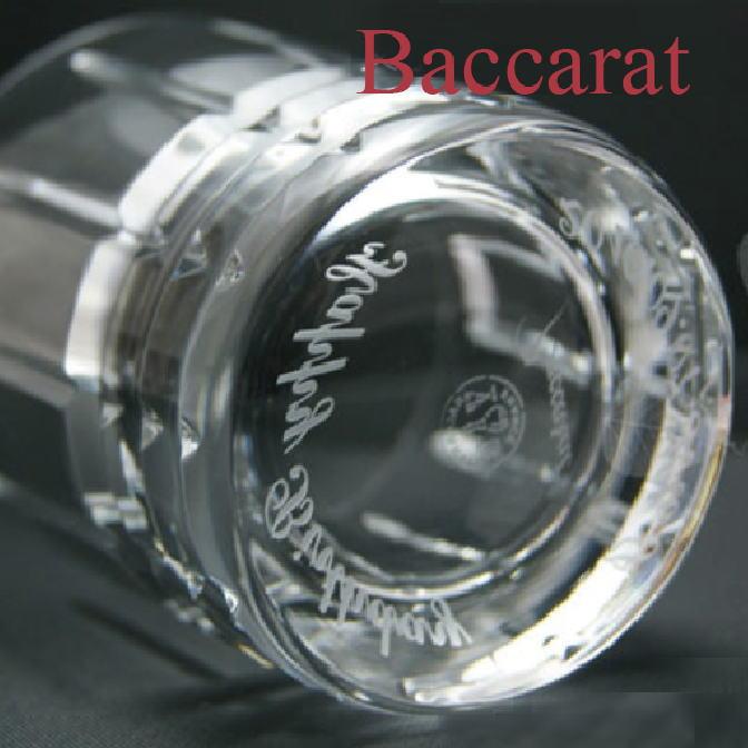 バカラ グラス ギフト 名入れ Baccarat アルルカン オールドファッション 送料無料 ロックグラス 誕生日プレゼント ギフト 長寿祝い 還暦祝い ロック バースデー メッセージ入り 贈り物 名前入り 結婚祝い 結婚記念日 退職祝い 卒業祝い