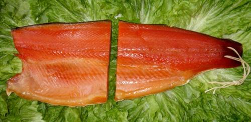 salmon-uematsu: Approximately 600 g