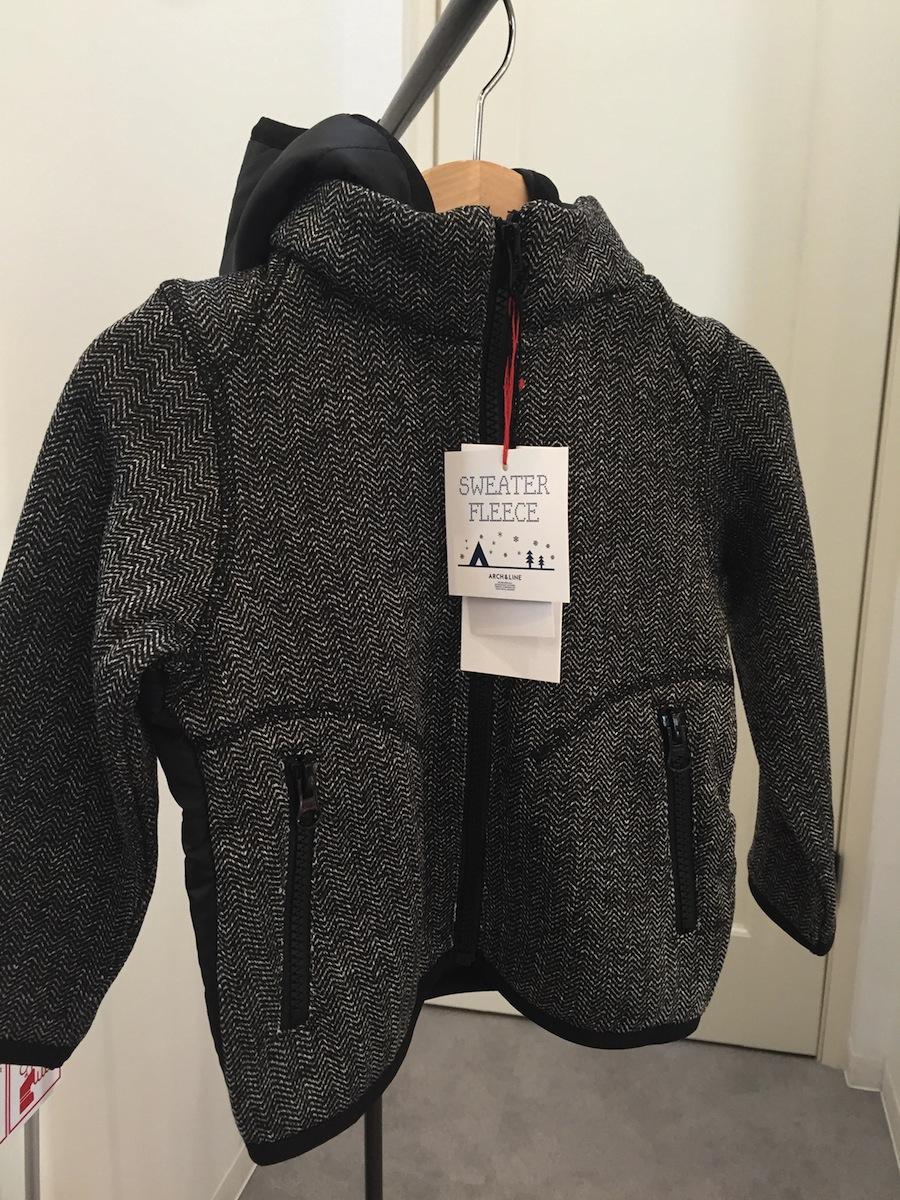 アーチアンドライン ARCH&LINE フリースジャケット ジップアップ 日本ブランド ウォッシャブル あったかアイテム あったかい