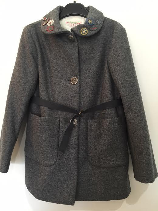 bonpoint ボンポワン コート 刺繍コート
