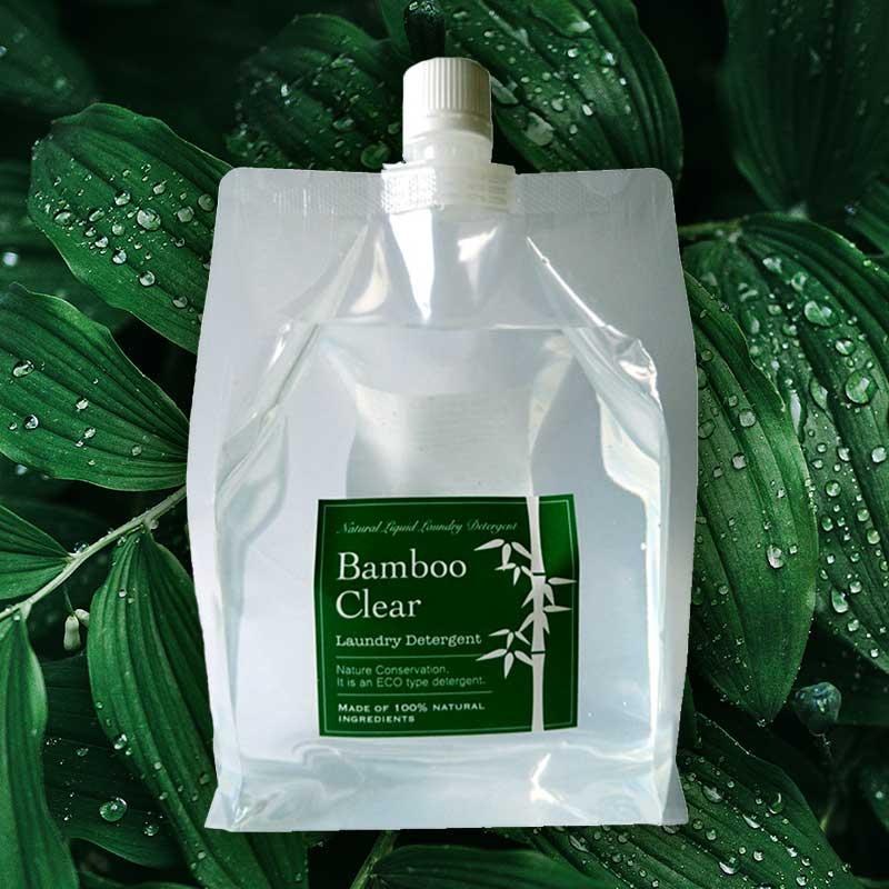 天然成分100%の 人気ブレゼント 無添加洗濯用竹洗剤バンブークリアは日本の竹から独自の自然抽出製法で1ヶ月時間をかけてていねいに作った天然成分100%の無添加洗濯用竹洗剤です 1Lの詰替え用です バンブークリア 竹 洗剤 天然成分100% 洗濯用洗剤 無添加 ランキングTOP10 1リットル バンブークリア詰替え用1L がっちりマンデー洗剤 エシカルバンブー パックタイプ
