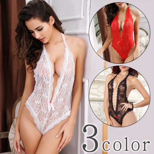 66384e3cc90 samantha  Sexy Teddy lingerie white   red   black 3 color □ three ...