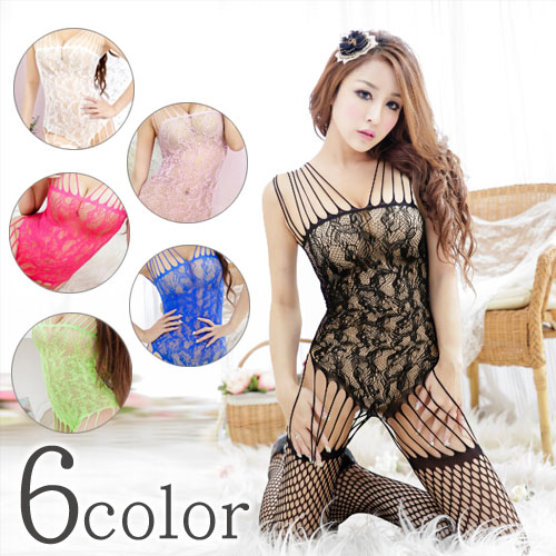 ec660007b7 Sexy body stocking lingerie black   white   pink   Rose   blue   yellow 6  color □ three-in-one game underwear garters slip T background radical  camisole