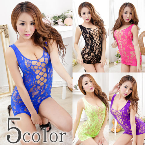 e0f17d10299 Sexy body stocking lingerie black   Rose   blue   yellow   purple 5 color □  three-in-one game underwear garters slip T background radical camisole