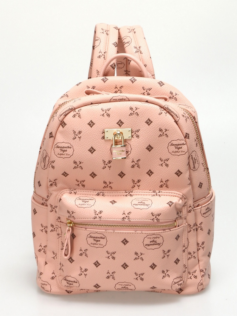 Samantha Vega PU PRINT BACKPACK萨曼莎维加