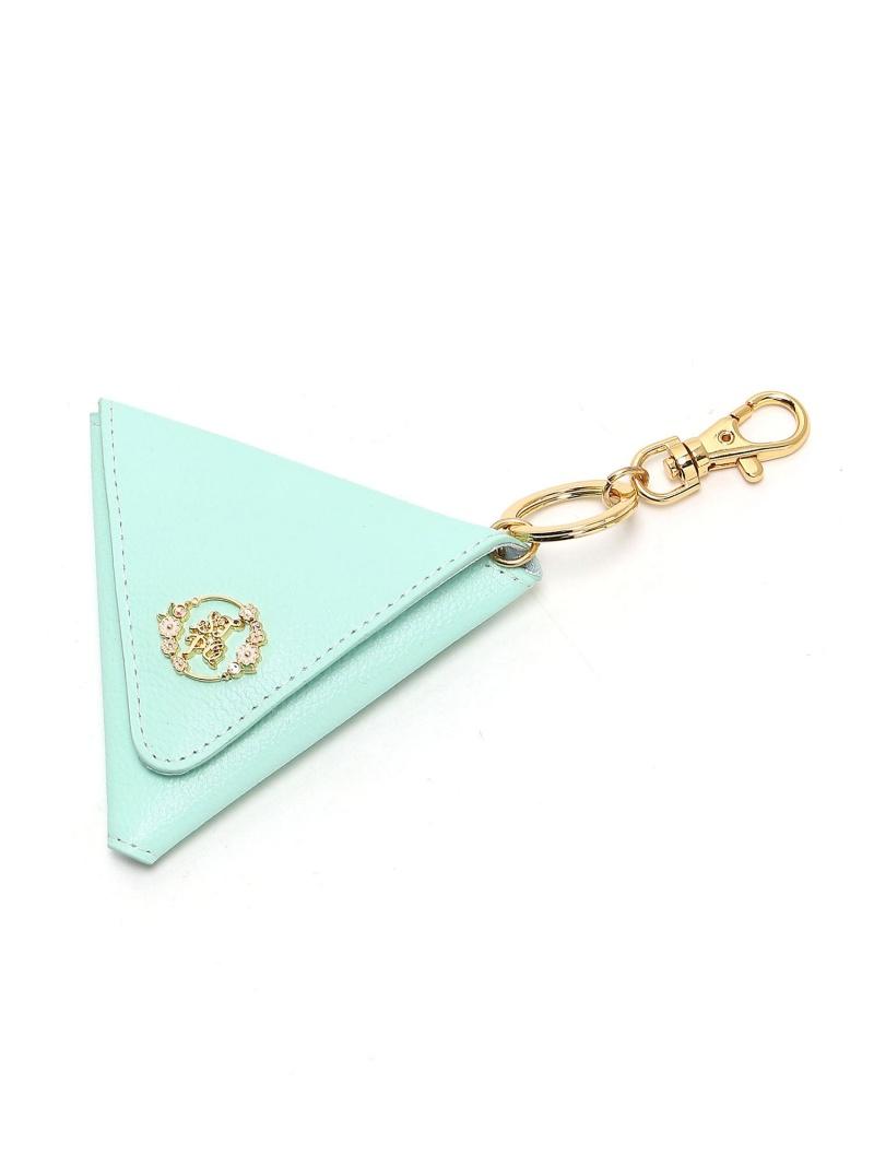 [Rakuten BRAND AVENUE]フラワープレートシリーズ ミニ財布(三角型) サマンサタバサプチチョイス 財布/小物【送料無料】