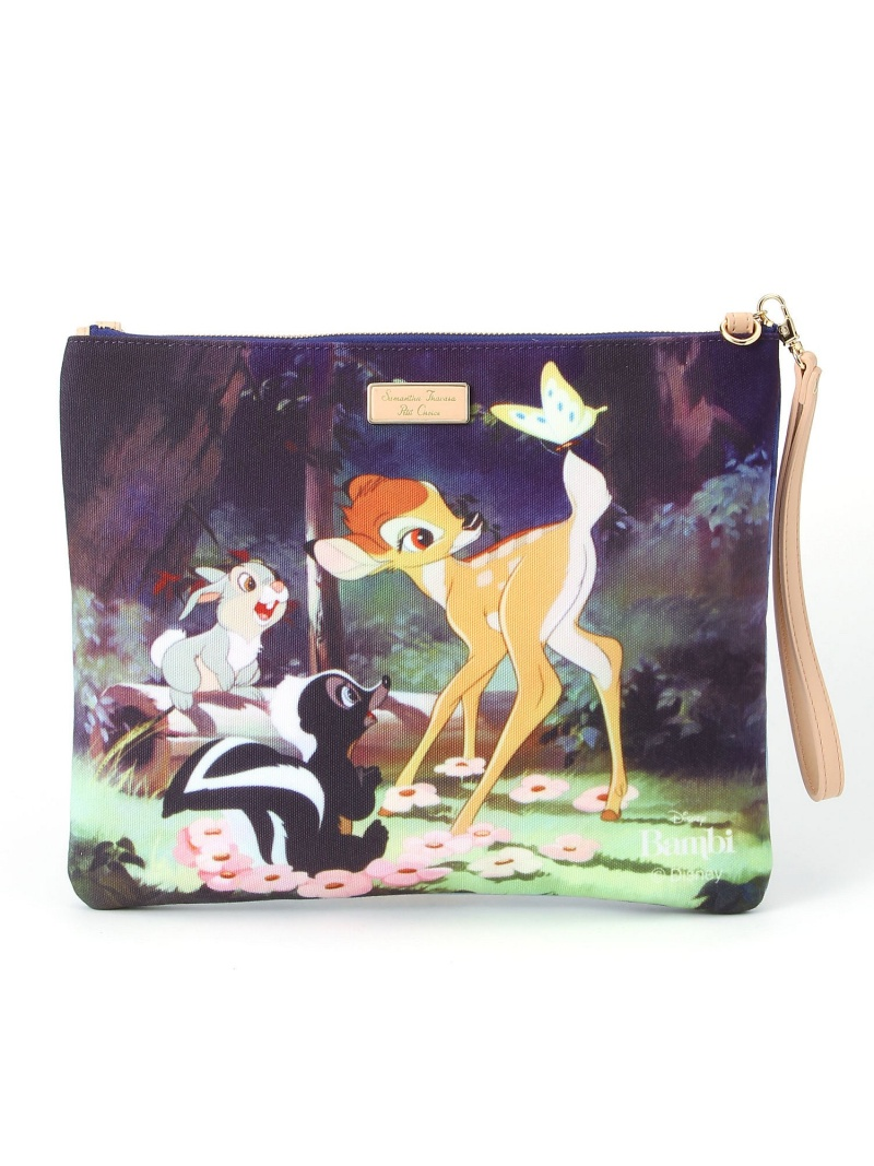 SAMANTHA THAVASA Samantha Thavasa Petit Choice DISNEY COTTON CLUTCH SAMANTHA THAVASA微型选择