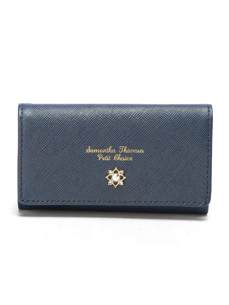 Rakuten Fashion 18AWジル キーケースSamantha Thavasa Petit Choice サマンサタバサプチチョイス 財布 小物 キーケース レッド グレー ネイビー ブラック 送料無料T1clFKJ
