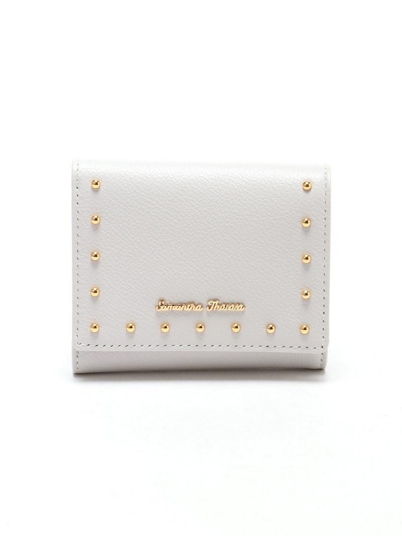 [Rakuten BRAND AVENUE]カシメ小物 折財布 サマンサタバサ 財布/小物【送料無料】