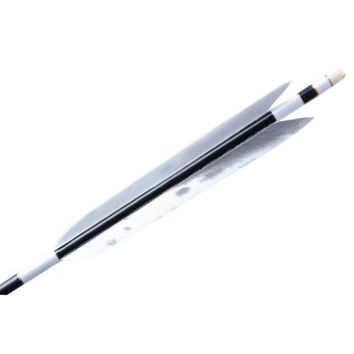 【弓道】【矢】【o-161】フルオーダー製作カーボン ターキー 美羽根シリーズ 6番 6本組 【弓道 オーダー矢】 【ラッキーシール対応】