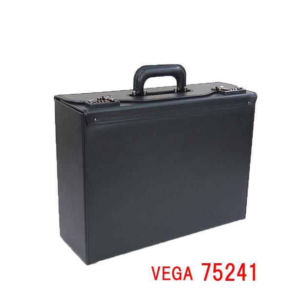VEGA ベガ フライトケース 75241 日本製 イケテイ IKETEI パイロットケース ダイアル式錠前 ダイヤルロック ナンバーキー メンズ B4 B4F 45cm 大容量 通勤 資料・書類 出張 学会 プレゼン カタログ パンフレット ランキング