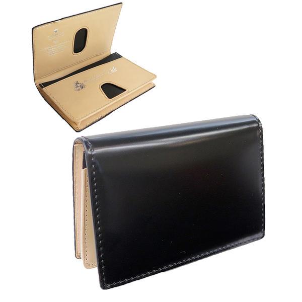 P.I.D [ヴァスト] コードバン製・ カードケース 名刺入れ 25261 パスケース 本革 PID VASTOシリーズ 革の王様 小物 ピーアイディー メンズ レザー コードバン カード ブランド 人気 ギフト プレゼン