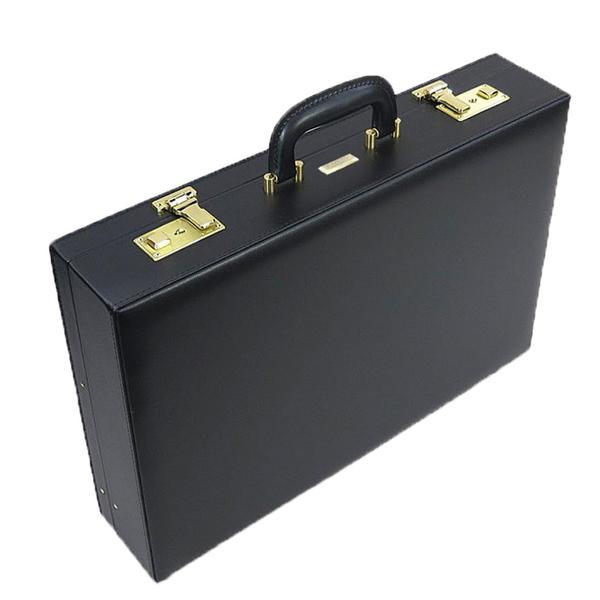 J.C HAMILTOM(ジェイシーハミルトン) 国産ハード・アタシュケース 21226 A3書類 45cm メンズ ビジネス ハードケース PVC 合成皮革 日本製 豊岡製 A3 ブラック 黒 営業 書類入れ カタログ入れ ランキング