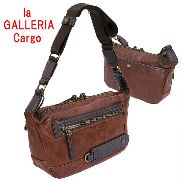 la GALLERIA[ラ・ガレリア・カルゴ]本革製ショルダーバッグ 2264