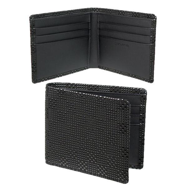 印伝[インデン] 二つ折り財布(小銭入れ無し) INDEN2005 【印傳屋】