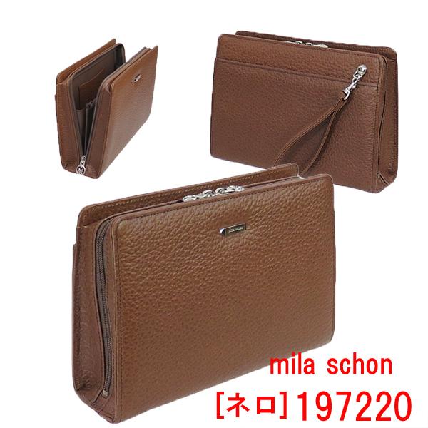 ミラ・ショーン[ネロ]セカンドバッグIK197220