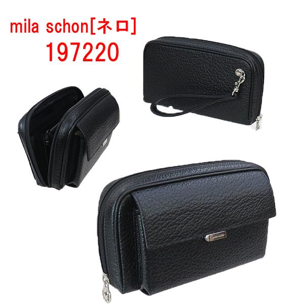 ミラ・ショーン [ネロ] 小型ポーチ 197214