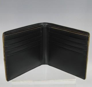 コタン[枯淡]二つ折り財布(小銭入れなし)3694