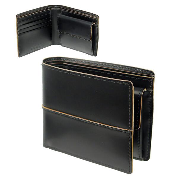 コタン[枯淡]二つ折り財布(小銭入れあり)3695