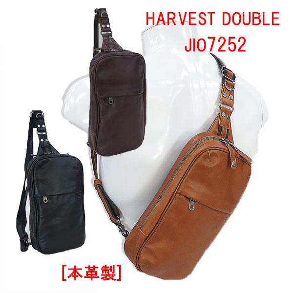 HARVEST DOUBLES[ハーヴェスト・ダブルス]本革製 ボディーバッグ JIO7252