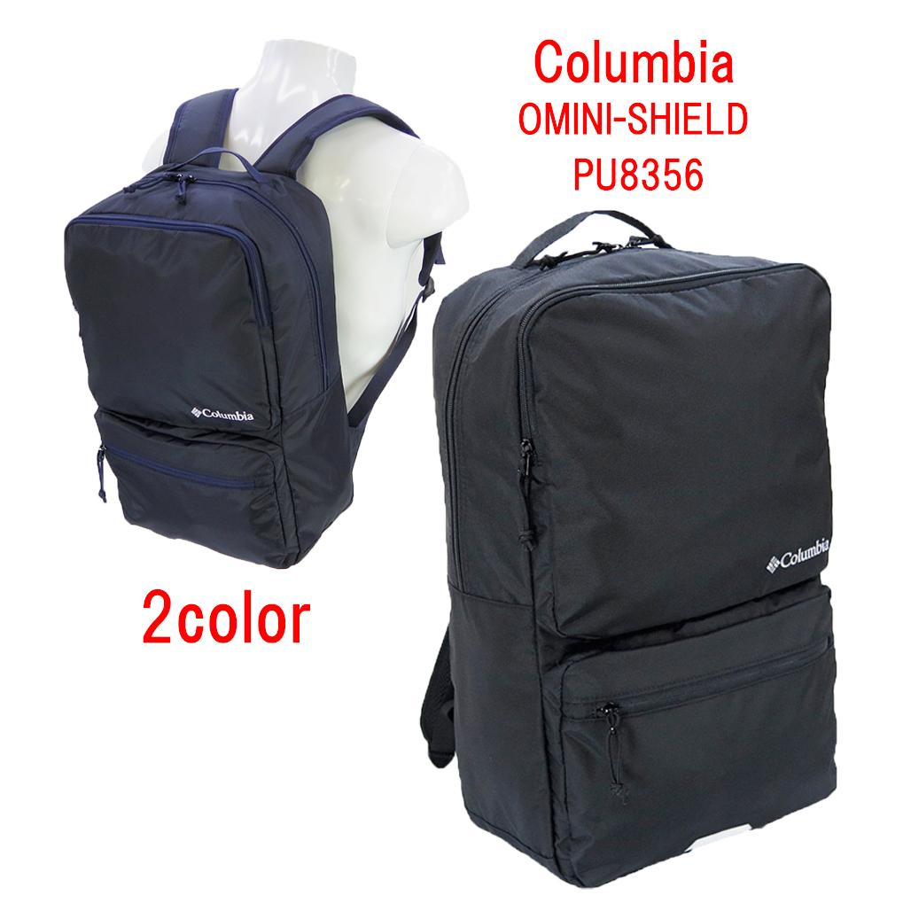 Columbia コロンビア 撥水 軽量 スクエアーリュック PU8356