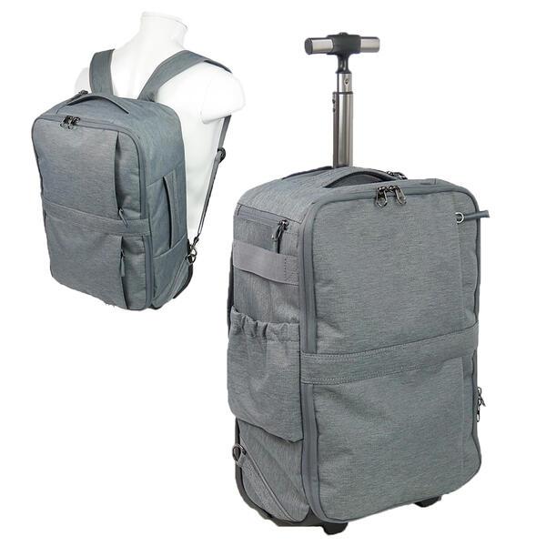 Spasso スパッソ/セパレート リュックキャリー 1-330トラベル キャリー Spasso Step2 3Way リュック キャリー ソフト キャリーバッグ 2輪 縦型 21リットル 機内持ち込み サイドポケット タイヤカバー ベルト収納 エンドー鞄