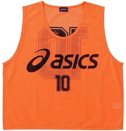 asics アシックス XSG060 ビプス(10枚セット) フラッシュオレンジ(21)【取り寄せ商品】