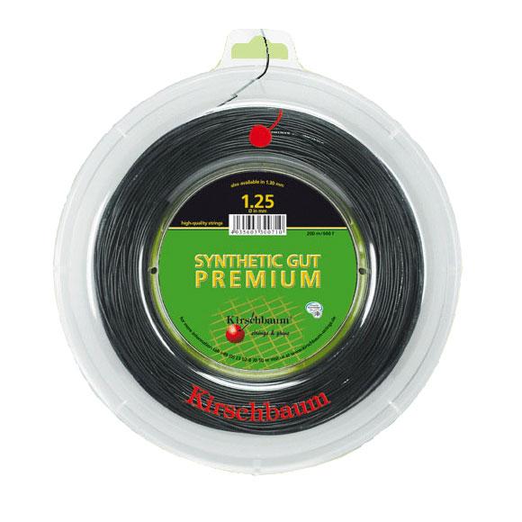 キルシュバウム【Kirschbaum】 Synthetic Premium(シンセティック・プレミアム)ストリング ナイロン系モノフィラメントのプレミアムモデル《st-premium-bk》【取り寄せ商】