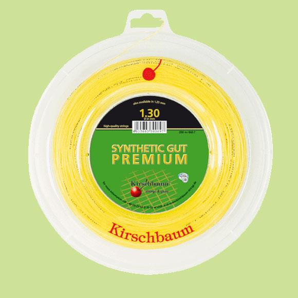 キルシュバウム【Kirschbaum】Synthetic Premium(シンセティック・プレミアム)ストリング ナイロン系モノフィラメントのプレミアムモデル《st-premium-g》【取り寄せ商品】