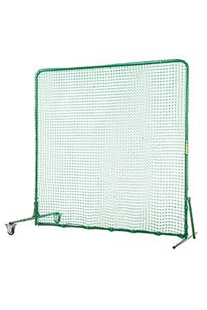 【メーカー直送】トーア 分割2.2×2.2 防球Wネット(片側キャスター付き) 組立式【取り寄せ商品】TN-040 ※同梱不可※