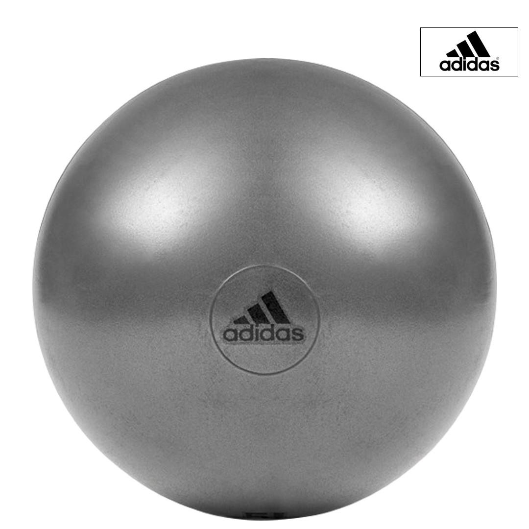 エクササイズ フィットネス 売り込み トレーニング 年末年始大決算 adidas アディダス ジムボール 55cm 202106V ADBL-11245 グレー 取り寄せ商品