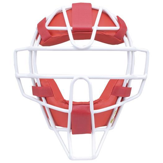 ミズノ MIZUNO  ミズノプロ ソフトボール用マスク MPソフトマスク 17《1DJQS10062》野球 ソフトボール レッド 赤 キャッチャー用防具【取り寄せ商品】(1706e)