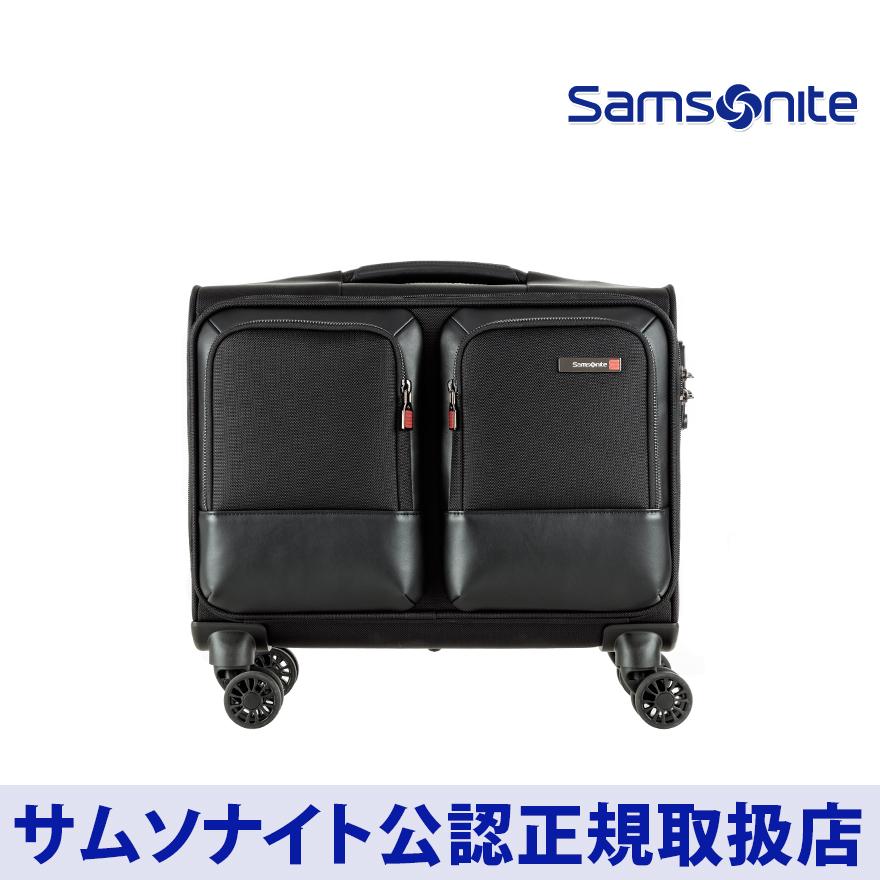 サムソナイト/Samsonite/ビジネスキャリー/軽量/高密度ナイロン/1~2泊/出張/機内持込[ セフトン・ローリングトート スピナー ]