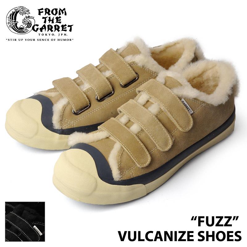 【FROM THE GARRET】 フロムザギャレット FTG1702-AC01T FUZZ VULCANIZE SHOES ボア スニーカー シューズ アメカジ 0601カード分割