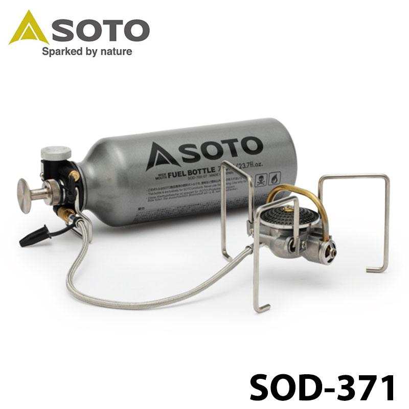 【SOTO】 ソト MUKAストーブ SOD-371 新富士バーナー キャンプ アウトドア 0601 カード分割