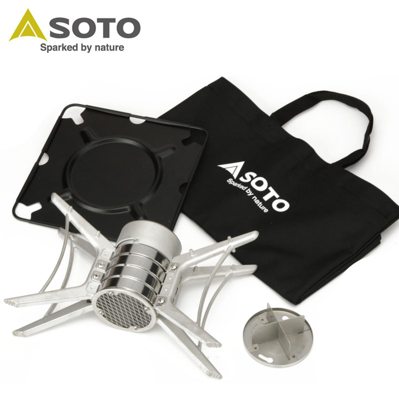 【SOTO】 ソト エアスタ ベース ST-940 焚き火台 ウィング別売 新富士バーナー キャンプ アウトドア 0601 カード分割