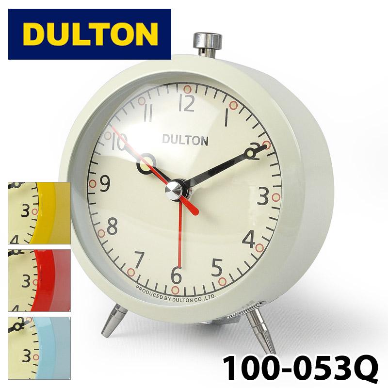 ダルトン DULTON 100-053Q アラームクロック 新作製品 世界最高品質人気 ALARM CLOCK IVORY 定価の67%OFF アイボリー 目覚まし時計 ベル 卓上 アウトドア キャンプ 寝室 インテリア 0601 カード分割 レトロ リビング