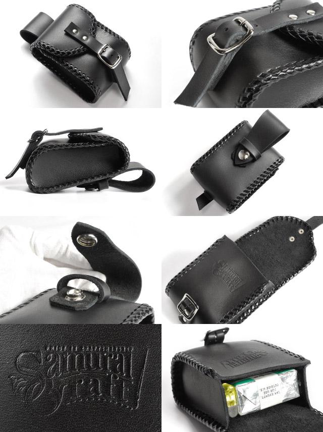 Leather bikies cigarette case accessory case tough oil leather 02 handmade fs3gm