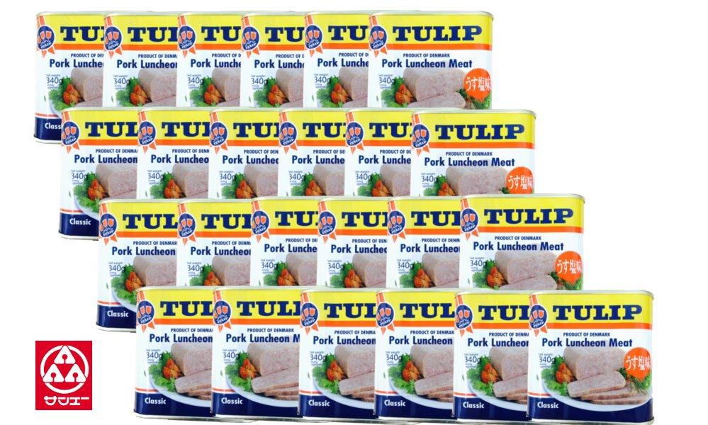 【チューリップポーク ケース(24缶)】 ※他商品との同梱不可です。【楽ギフ_のし】【smtb-ms】 ·~まとめ買い·共同購入·業務用に☆~ ~パッケージが変更になりました~ ·