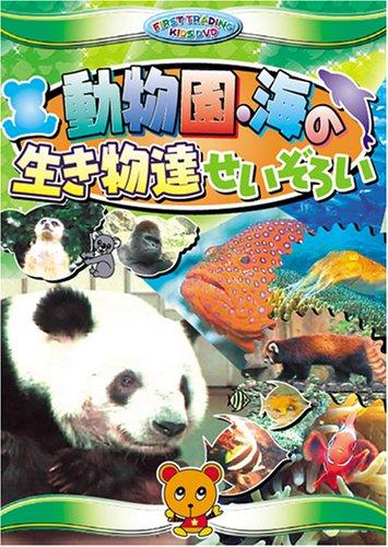 送料無料 営業日15時までのご注文で当日出荷 未使用 新品DVD 動物園 キッズ CAR-005 動物 新作販売 海の生き物達せいぞろい