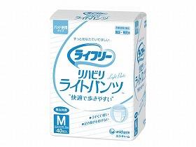 [ユニ・チャーム] Gライフリ- リハビリライトパンツM 40枚×4入り(ケース) 96104
