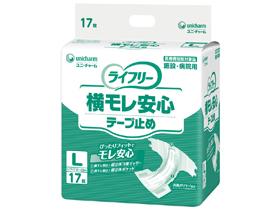 [ユニ・チャーム] Gライフリ- 横モレ安心テ-プ止めL 17枚×4入り(ケース) 92970