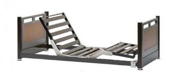 [フランスベッド] 超低床リクライニングベッド フロアーベッド 3モーター FLB-03J