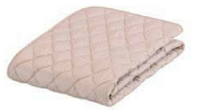 [フランスベッド] グッドスリープ プラス羊毛ベッドパッド 一般ベッド用 122幅 セミダブル