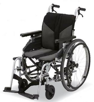 [フランスベッド] 自走用車いす サイドウェイ (横移動車いす、ノーパンクタイヤ仕様) 200076514