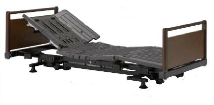 [フランスベッド] ヒューマンケアベッド 低床型 85幅ショート 3モーター キャスター脚 FBN-PJJ SU S R30