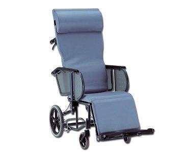 無段階でリクライニング 寝たきりで重度の方にも適しています 法人宛送料無料 商品 松永製作所 エスコート 公式 FR-11R MATSUNAGA フルリクライニング車椅子 脚部エレベーティング連動 介助式 ノーパンクタイヤ仕様 肘掛昇降
