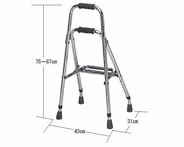 杖のように片手で扱える歩行器です アウトレットセール 特集 哲商事 往復送料無料 T-5503 バランスウォーカー