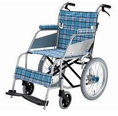 [片山車椅子製作所] KARL カール KW-903B (介助式・ドラムブレーキ付き)