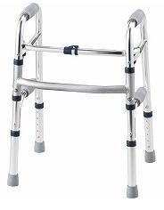 専用アクセサリーを後付けできます イーストアイ セーフティーアームウォーカー SSタイプ 歩行器 価格 介護用 高齢者用 予約 大人用 室内用 屋内用 リハビリ コンパクト 歩行補助 歩行訓練 自宅 施設 病院 折りたたみ可能